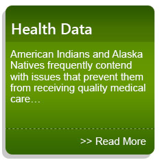 Health Data - American Indians and Alaska Natives frequently contend with issues that prevent them from receiving quality medical care…