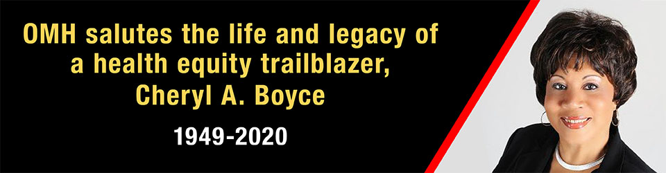 Link to Cheryl A. Boyce tribute video