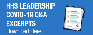 HHS Leadership COVID-19 Q&A