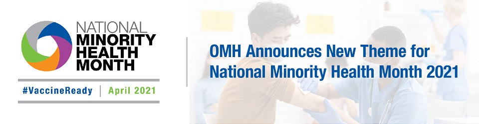 Link to National Minority Health Month