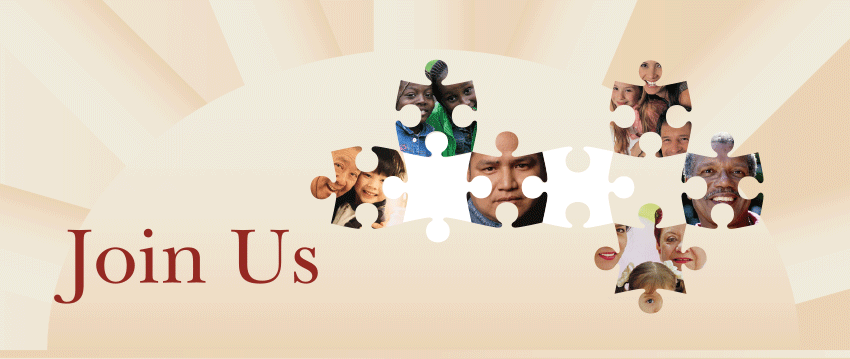 Join Us - images of multicultural people 