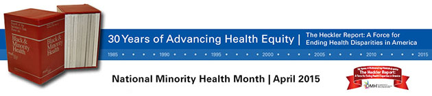 National Minority health Month 2015
