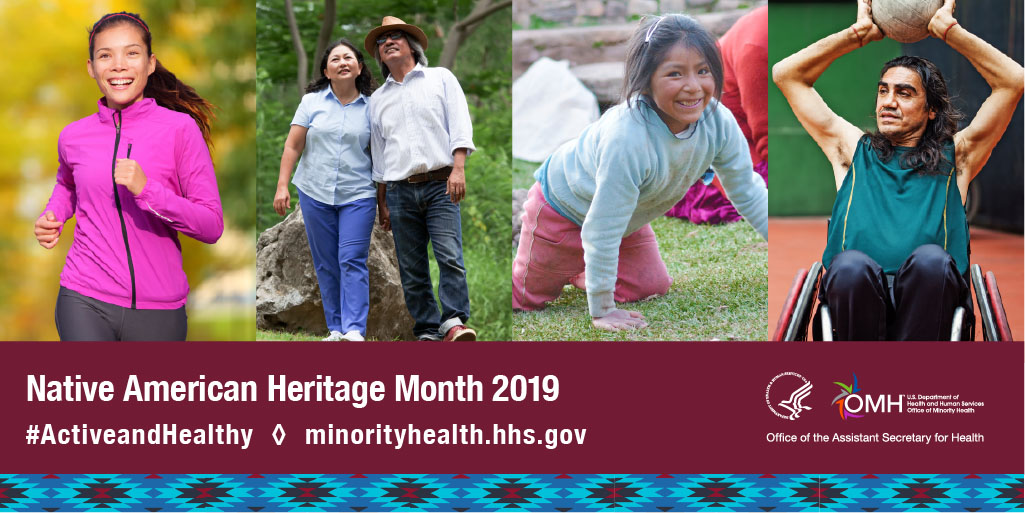 Native American Heritage Month Sharabale Image