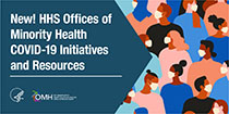Link to HHS Offices of Minority Health COVID-19 Initiatives and Resources